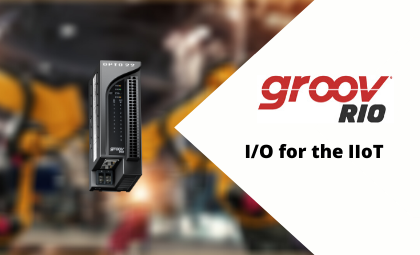 Introducing groov RIO: I/O for the IIoT™